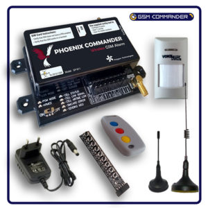 GP-911-KIT - Phoenix Commander GSM Alarm Kit