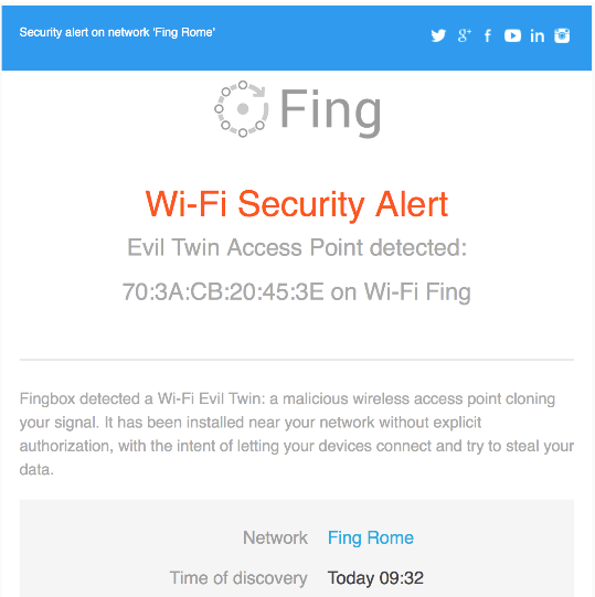 Cyber crime and home network security guard – The Fingbox